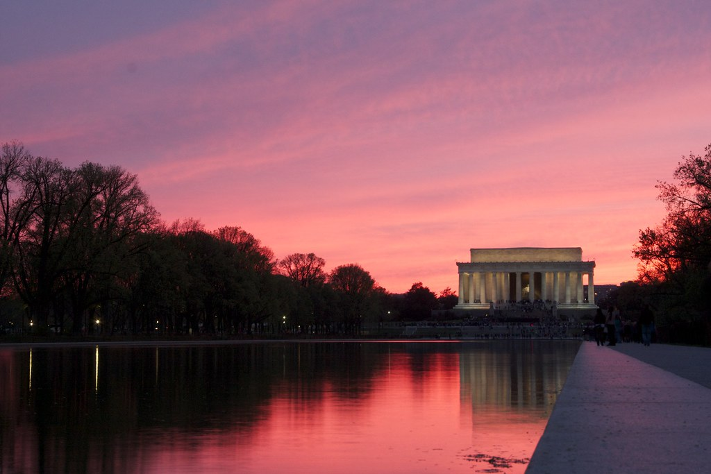 Lincoln Memorial at Twilight
