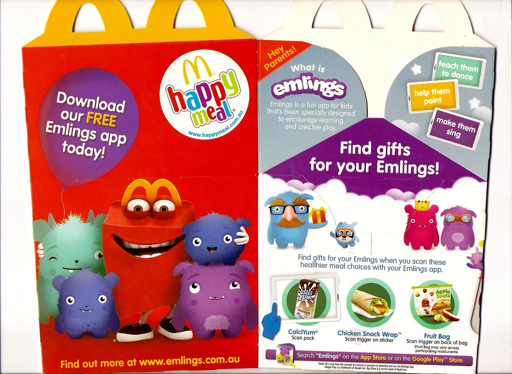 mcdonalds happy meal box 2014 may emlings by hytam2
