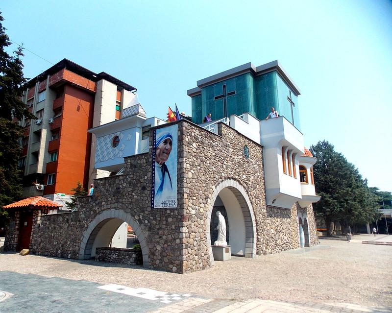 Mother Teresa-house in Skopje, Macedonia.