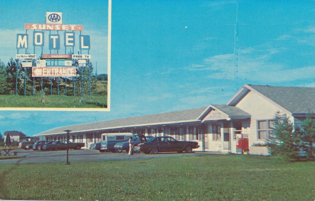 Sunset Motel - Sault Ste. Marie, Michigan