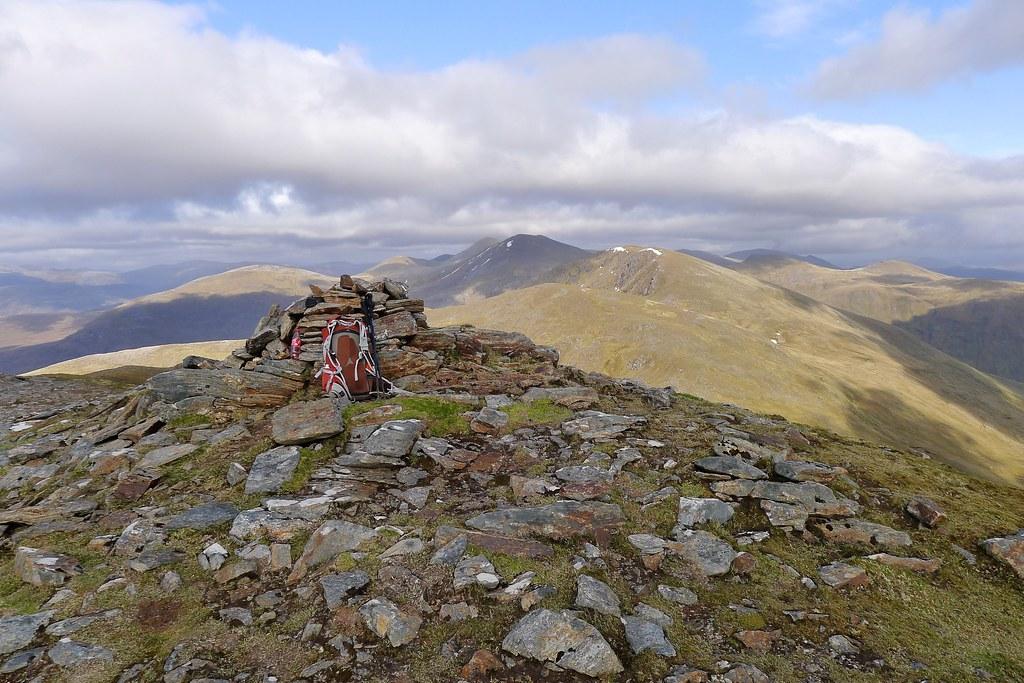 Summit of A' Chailleach