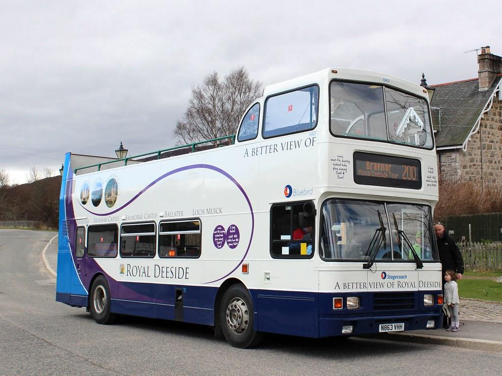 16863 N863VHH Stagecoach Bluebird | Volvo Olympian/Alexander… | Flickr