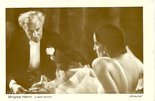 Brigitte Helm, Albert Bassermann, Alraune