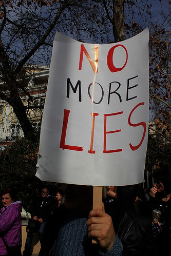 No More lies - Greece | by Teacher Dude's BBQ