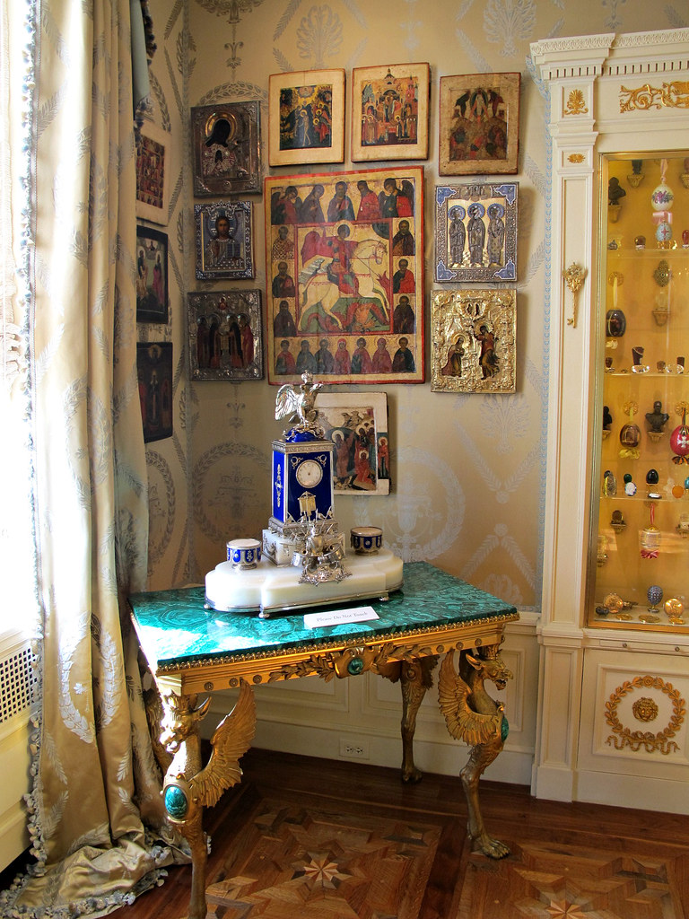 Imperial Russian Art, Icon Room, Hillwood Estate, Museum I… | Flickr