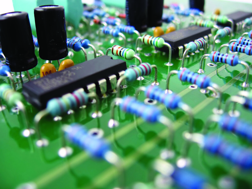 Integrated Circuits Ics United Pacific Electronics Upe Flickr Electronic Circuit By