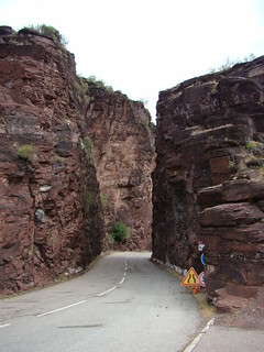 24 smalle plek in Gorges de Daluis
