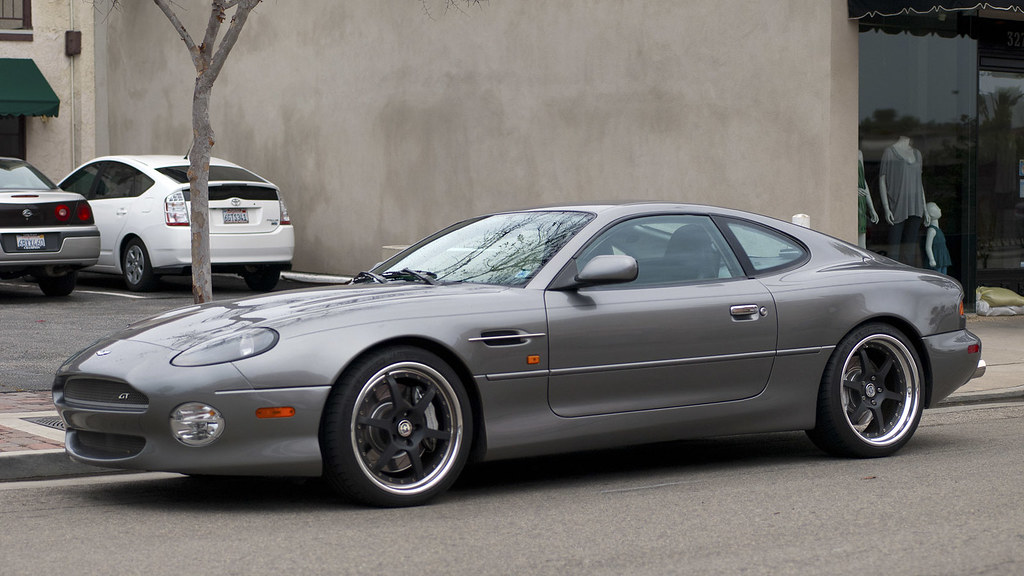2003 Aston Martin Db7 Gt Main St Seal Beach Ca Flickr