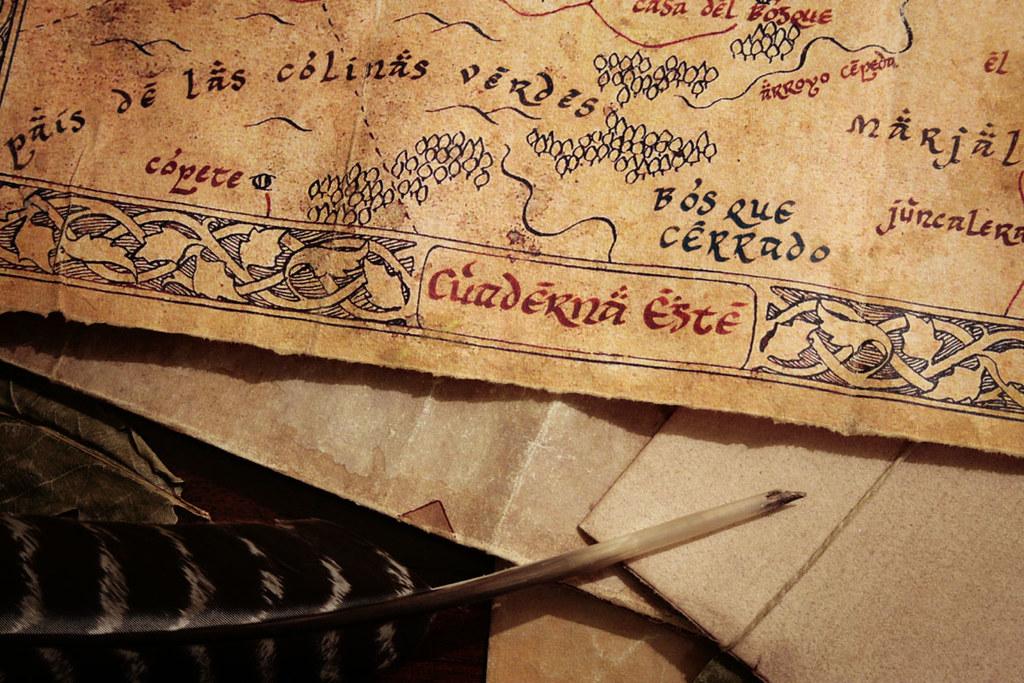 Cuaderna del Este | Mapa de la Cuaderna del Este que Bilbo t… | Flickr