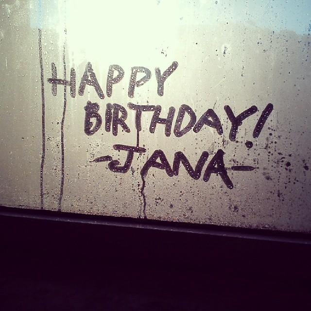 Happybirthday Mylove Jana Doğumgünü Thecutest Yellow Flickr