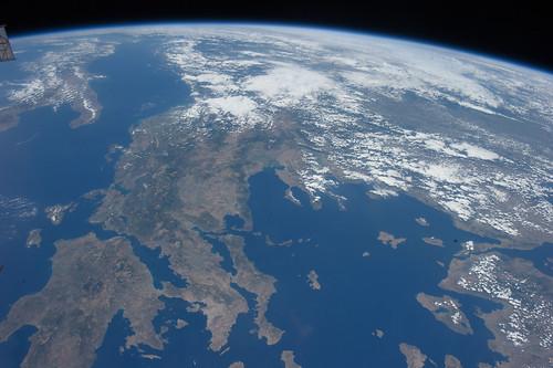 Beautiful Greece (Archive: NASA, International Space Station, 07/22/11)