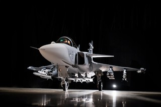 Saab proudly presenting Gripen E