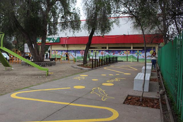 Plaza Juanita Aguirre | Conchalí | Santa Isabel