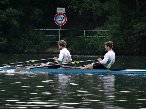 Rowing regatta on Baldeneysee