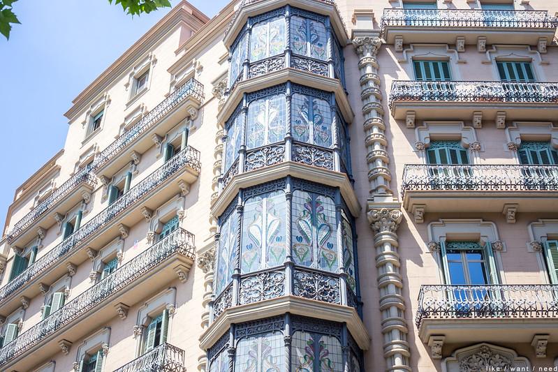 Architecture, l'Eixample