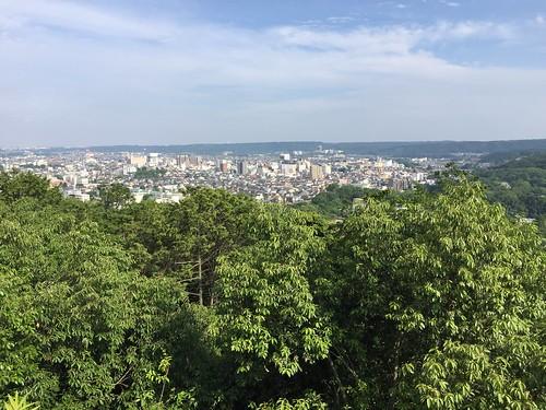 飯能 天覧山 頂上からの風景