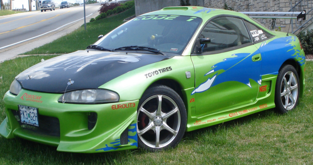 "1996 Mitsubishi Eclipse ""Spliner Eclipse"" | One of the most …"