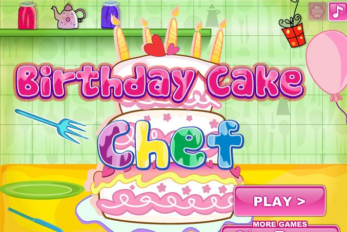 Admirable Birthday Cake Chef Cookinggamesonline Biz Game 2441 Bi Flickr Funny Birthday Cards Online Eattedamsfinfo