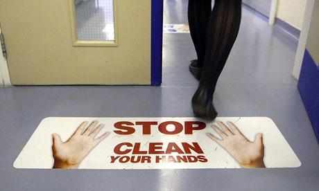 Hand Washing Sign Floor Google Image Credit Tim