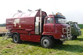 ifa l60 truck mit koffer beim 5 treckertreffen in. Black Bedroom Furniture Sets. Home Design Ideas