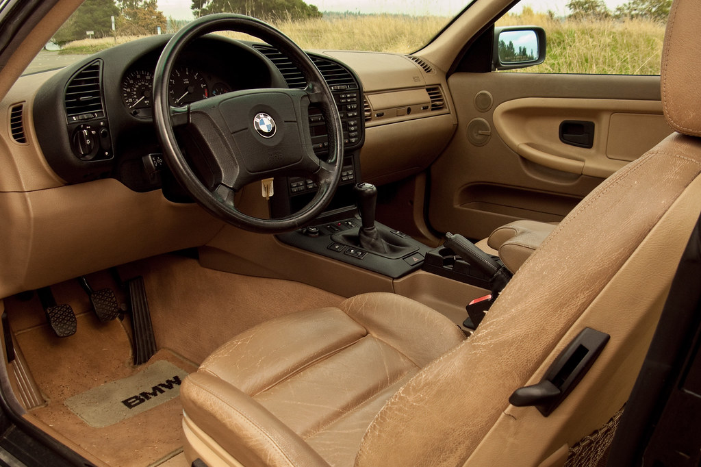 ... E36 BMW 328is Interior | By Ham Hock