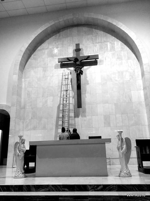 Veiling the Crucifix