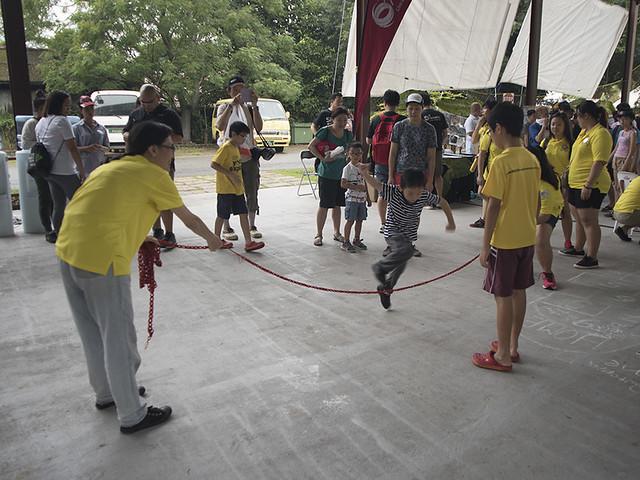 Kampung Games with U Cares and U Volunteers at Pesta Ubin 2016