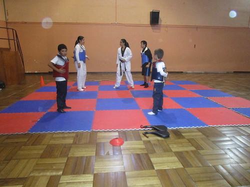 Taller de Karate