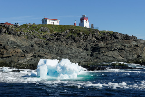 Icebergs In St. Anthony, Newfoundland | by baldheretic