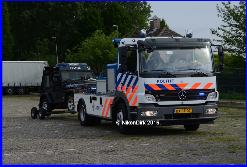 Dutch Police Den Haag Mercedes Benz Atego Tow Truck With Flickr