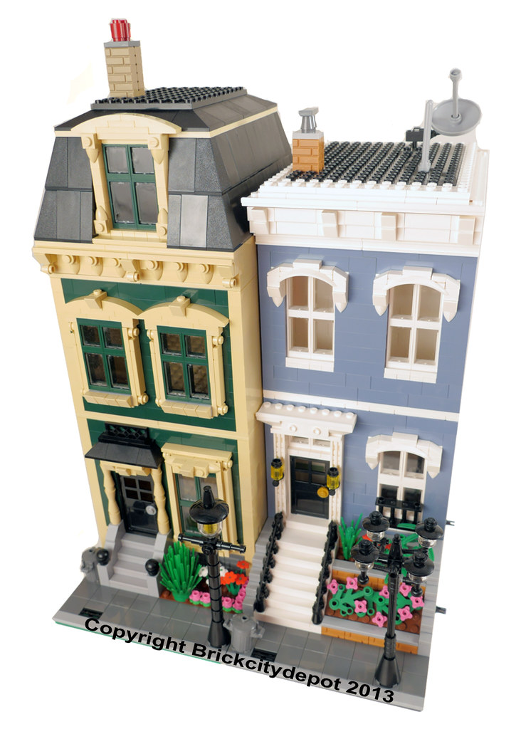 City Residential Pack 4 Lego Modular Building 1 Flickr