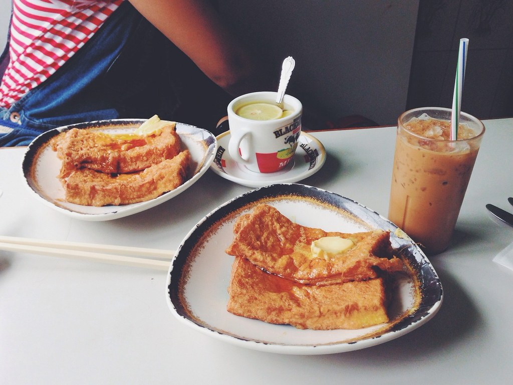 French toast. at Mido Cafe 美都餐室. Image: Debbs, CC.