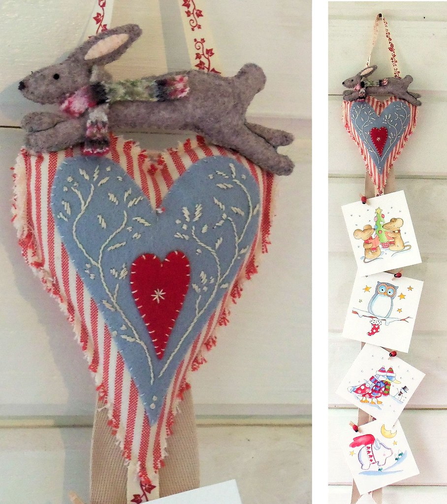 Christmas Hare Card Hanger   Project for the December 2013 B…   Flickr