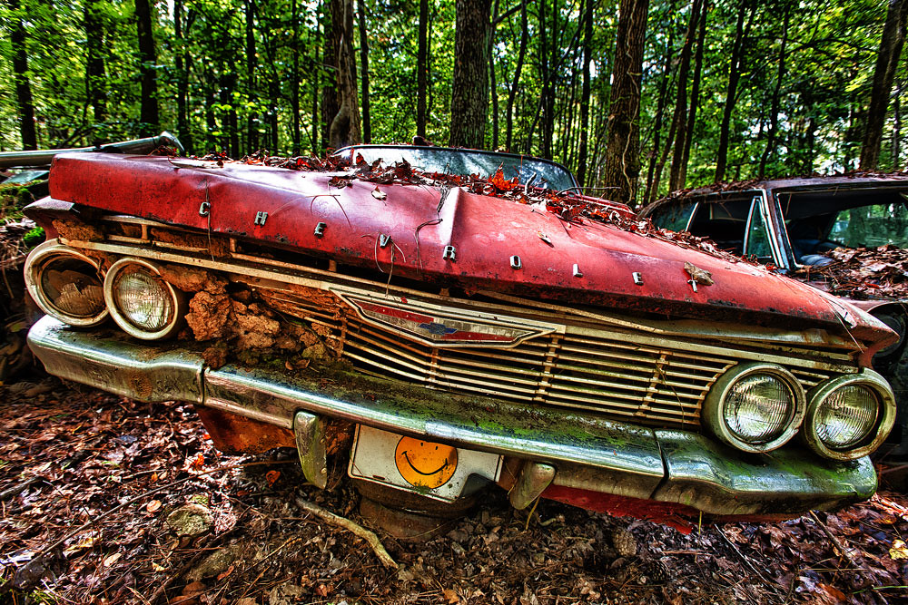 Smiley Face, Old Car City USA | Eric Seibert | Flickr