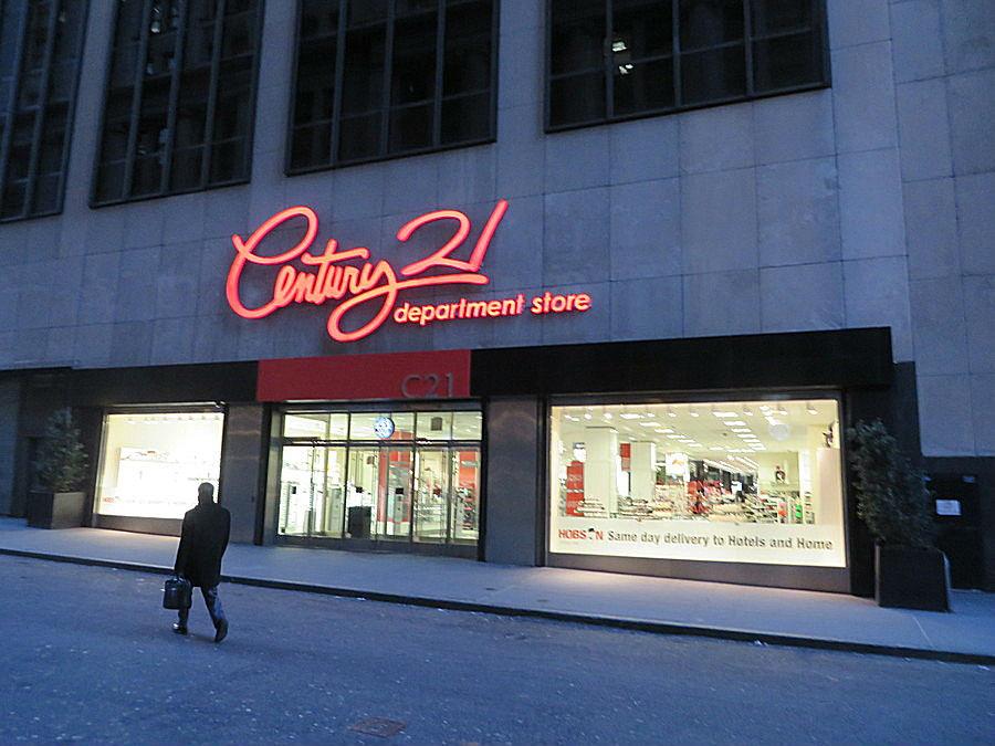 Century 21 Department Store Exterior