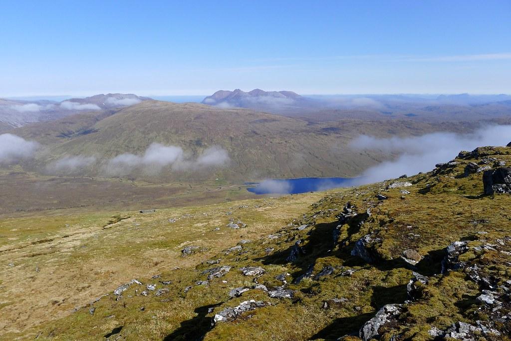 An Teallach and Loch a' Bhraoin