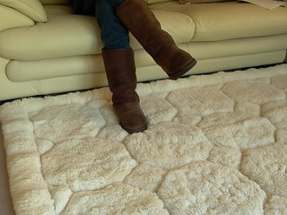 Chocolate Brown Classic Tall Ugg Boots on Alpaca Rug | by Uggling ...