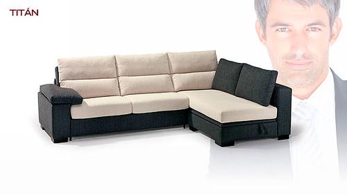 Sofa combinado en 2 colores de 3 plazas original sofa de for Sofas de 3 plazas