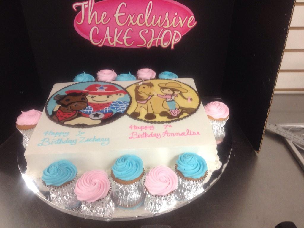 Half Girl Half Boy Birthday Cake Exclusive Cake Shop Flickr