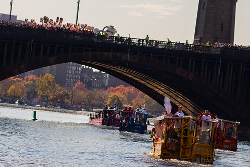 Cue The Duck Boats!   I had a great time at the Red Sox cham…   Flickr