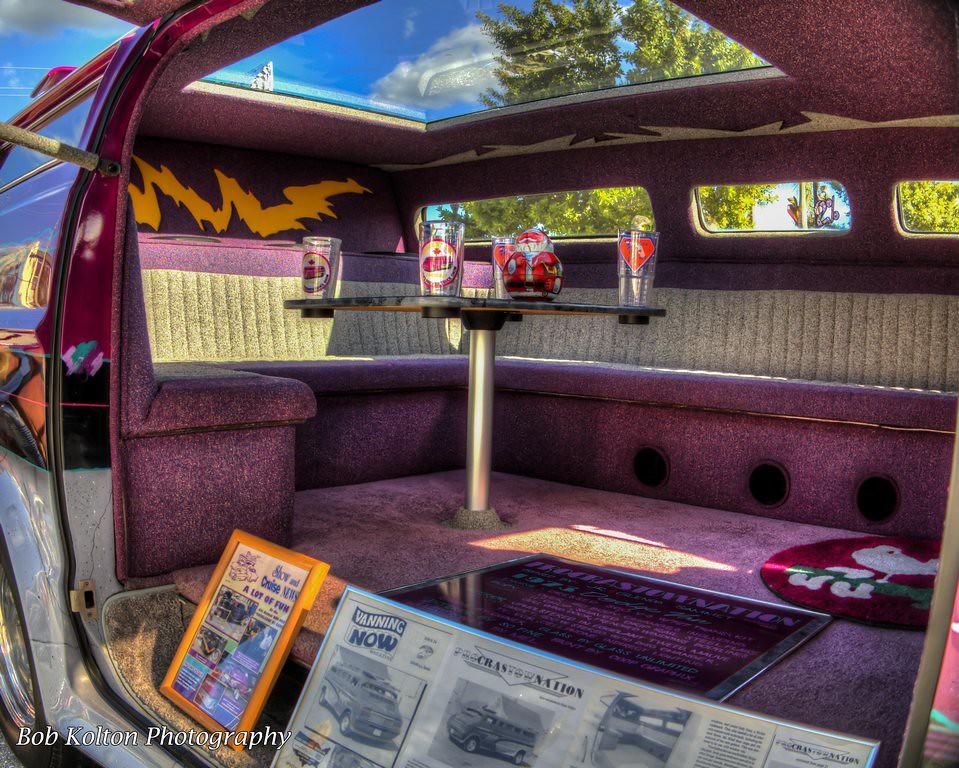 1973 Dodge Custom Van Interior