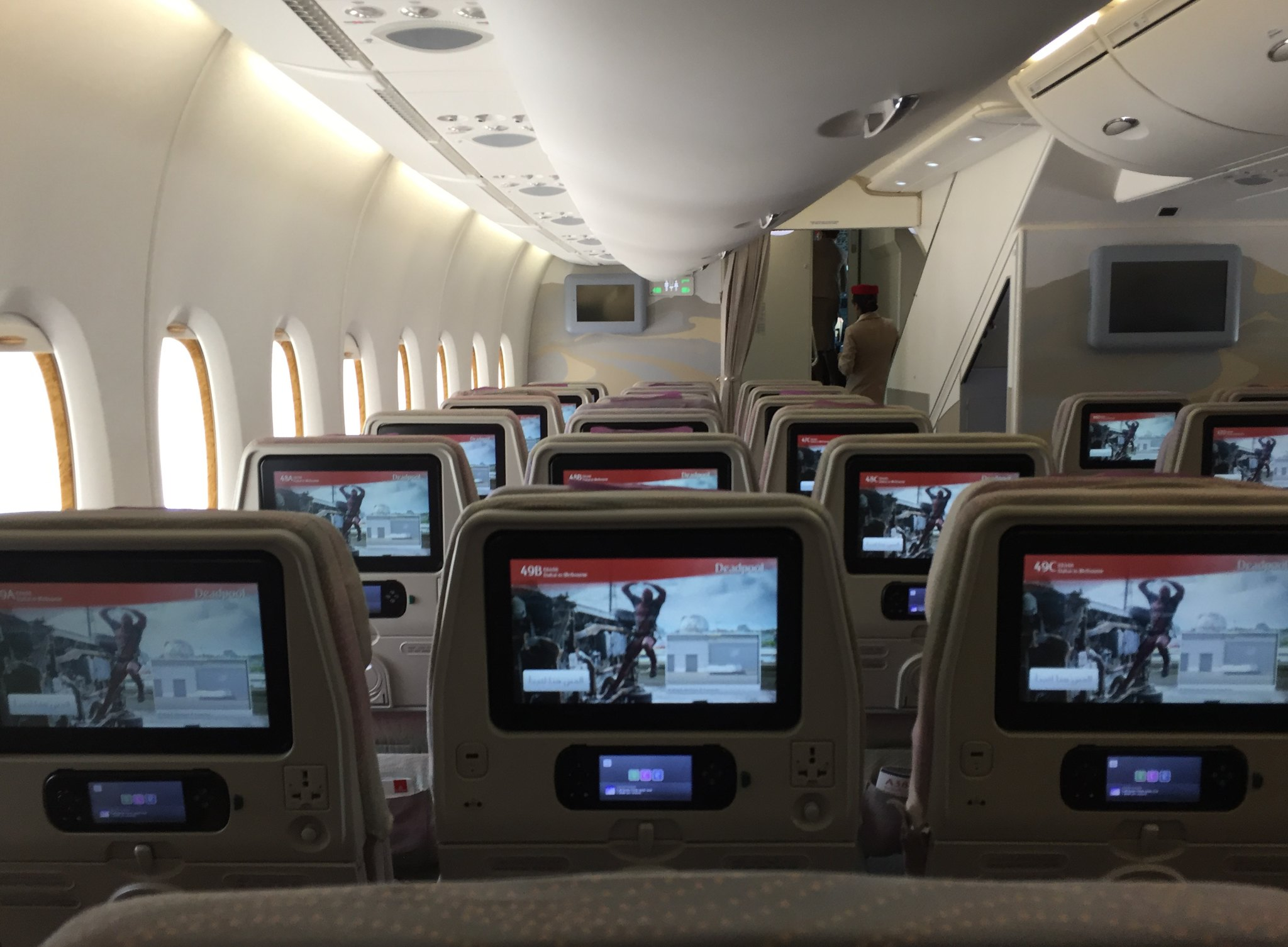review of emirates flight from dubai to melbourne in economy. Black Bedroom Furniture Sets. Home Design Ideas