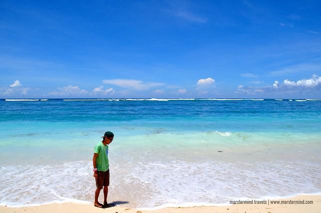 Strolling at Pandawa Beach Bali