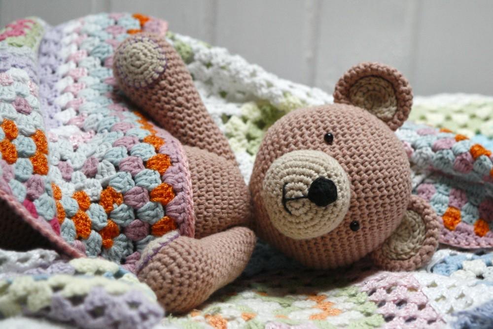 Amigurumi Teddy Bears : Amigurumi teddy bear marianne seiman flickr