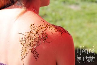 Henna_shoulder_rose_bedford  Henna By Heather  WwwHennaBy  Flickr