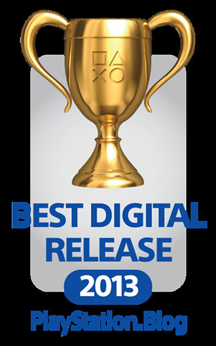 PlayStation Blog Game of the Year Awards 2013: Best Digital Release Gold | by PlayStation.Blog