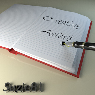 Suzie81 Creative Award Badge | by divemasterking2000