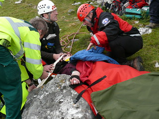 Dinbren Fallen Climber Rescue 2010 | by newsar_press