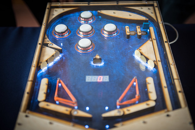 ECE115 Fast Prototyping Course - Pinball