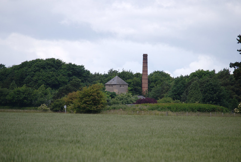 East Fortune chimney and tower